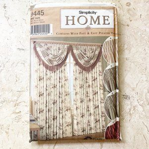 NEW Simplicity Sewing Pattern Window Treatments
